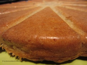 Cake poires, roquefort et noix