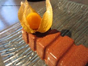 Parfait glacé au chocolat