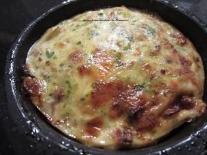 Clafoutis thon-poireau