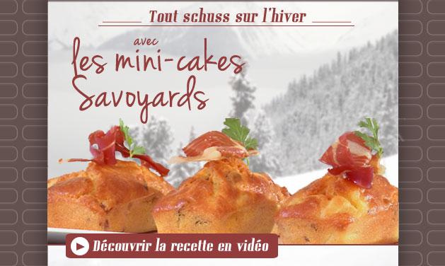 Recette Cakes Savoyards, crédit photo Guy Demarle
