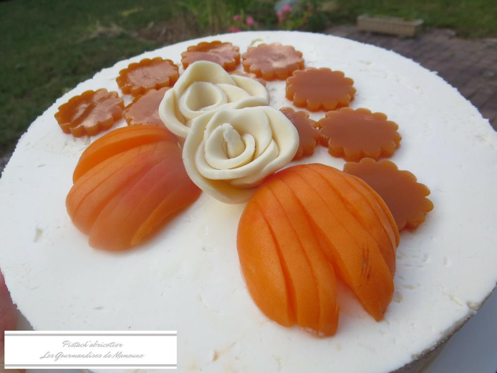 Pistach'abricotierLes Gourmandises de