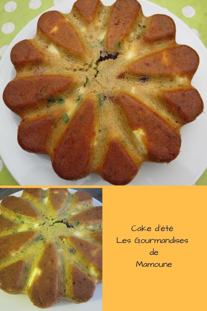 Cake d'étéLes Gourmandises de Mamoune