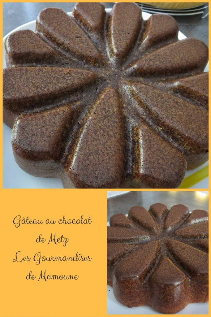 Gâteau au chocolat de MetzLes Gourmandises de Mamoune